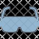 3 D Glasses Icon