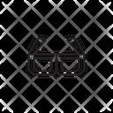 D Glasses Goggels D Goggels Icon
