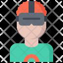 3 D Glasses User Icon