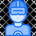Glasses 3 D User Icon