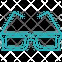 D Goggles Icon
