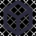 3 D Logo Cube Icon
