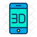 3 D Mobile Icon