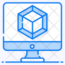 3 D Model 3 D Cad 3 D Animation Icon