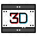 3D movie Icon