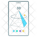 3 D Object Icon