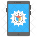 3 D Mobile App Icon