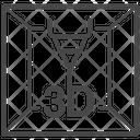 Device Machine Laser Beam Icon