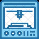 3 D Printer Device Icon