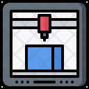 3 D Printer Technology Icon