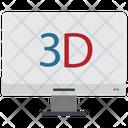 D Screen 3 D Screen Icon