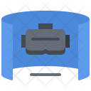 3 D Screen Glasses Icon