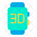 3D Smartwatch Icon