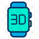 3 D Smartwatch Icon