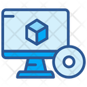 3 D Software Icon