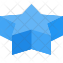 Star Shapes 3 D Icon