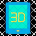 3 D Tab Icon