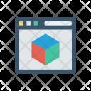 3d website Icon