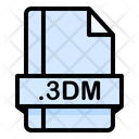 3 Dm File File Extension Icon