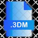 3 Dm File Icon