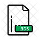 3 Ds Document Extension Icon