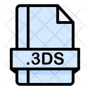 3 Ds File File Extension Icon