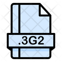 3 G 2 File File Extension Icon