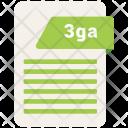 3ga file Icon
