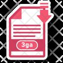 3 Ga File Icon
