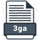 3 Ga File Formats Icon