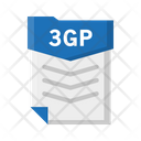 File 3 Gp Document Icon