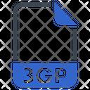 3 Gp Document File Icon