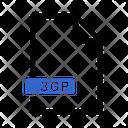 3 Gp File File Format Icon