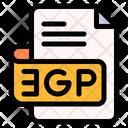 Gp File Type File Format Icon