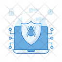 Antivirus Security Security Shield Virus Protection Icon