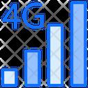 4 G Signals Internet Icon