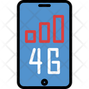 4 G Connection Connection Communication Icon