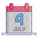 4 July Icon