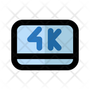 4 K Entertainment Movie Icon