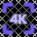 4 K Icon