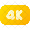 4 K Definition Icon