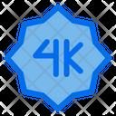 4 K Device Device Optio Icon