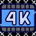 K Film Format Icon