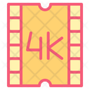 4 K Display Quality Icon
