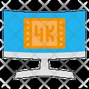 4 K Monitor Icon