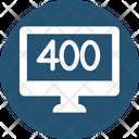 400 Error Icon