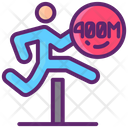 400 M Hurdles Icon