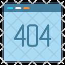 404 Error Website Icon