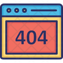 404 Browser Icon