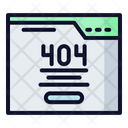 404 Error 404 Website Icon